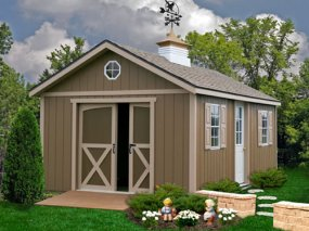 Best Barns North Dakota 12 x 12 Wood Shed